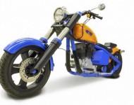 replika Harley Davidson Softail vyrobená v 3D tisku