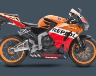 Hondu CBR600RR lze zakoupit v atraktivním designu, který připomíná spojitost s MotoGP. Foto: http://powersports.honda.com