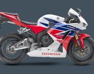 Tradiční barvy pro Hondu CBR, to jsou bílá a červená, případně doplněné modrou. Foto: http://powersports.honda.com
