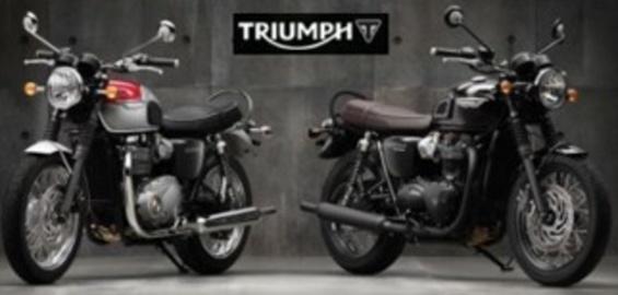Triumph má novou řadu motocyklů.