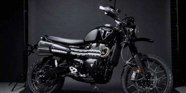 Triumph Scrambler 1200 XE James Bond edition